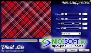Namesuppressed Plaid Lite 1.02