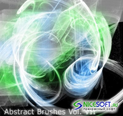 Abstract Brushes Set for Photoshop Vol VII