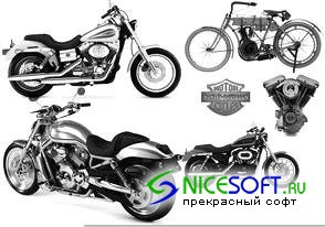 Кисти для Photoshop - Harley Davidson Brushes