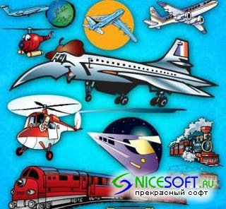 Transport EPS Vector Pictures