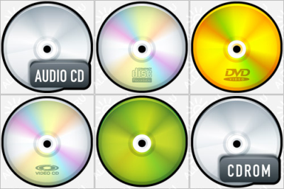 Color CDs icons