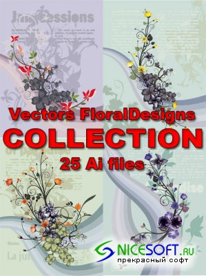 Vectors FloralDesigns COLLECTION
