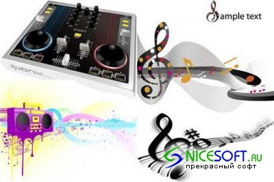 Vector Music Collection