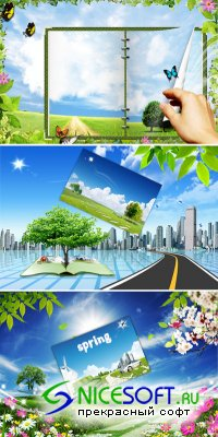 PSD templates - Nature 7