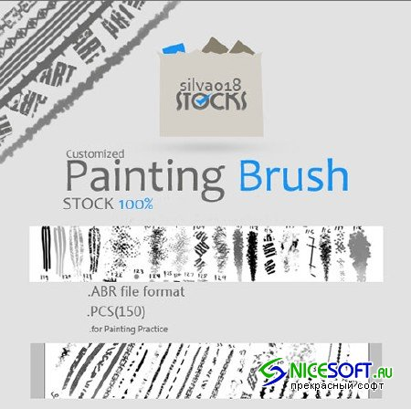 Dynamic Customized Painting Photoshop Brushes