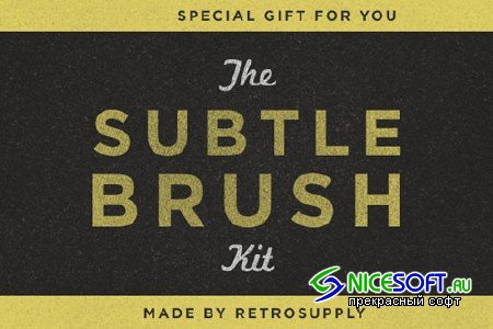 The Standard Issue Subtle Brush Kits
