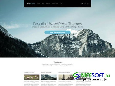 Altitude WordPress Theme - CM 105805
