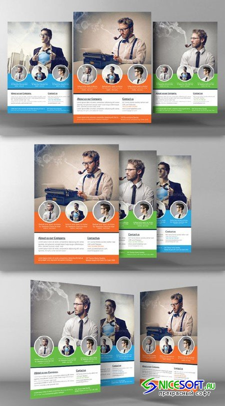 Corporate Flyer Template - CM 96448