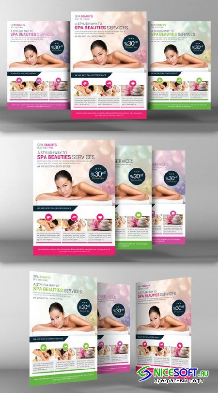 Dream Spa Flyer Template - CM 96461