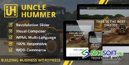 Uncle Hummer v2.1.3 - Responsive WordPress Building Theme - Themeforest 8942592