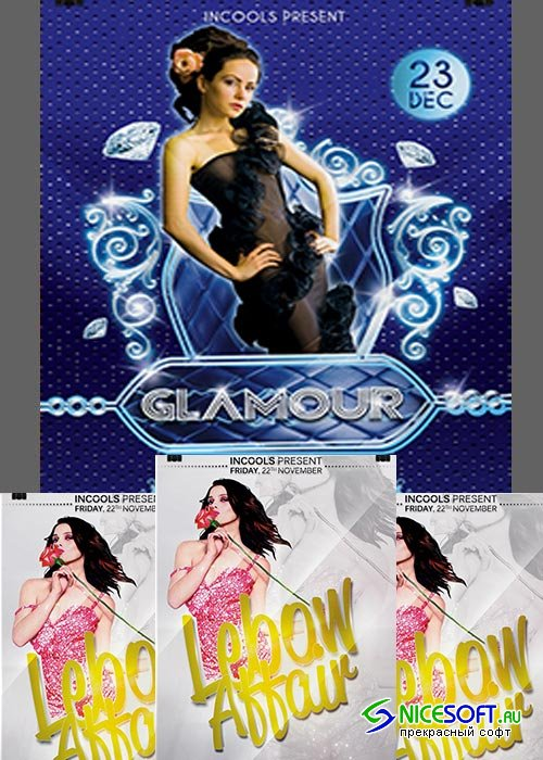 Glamour Flyer Template part 1