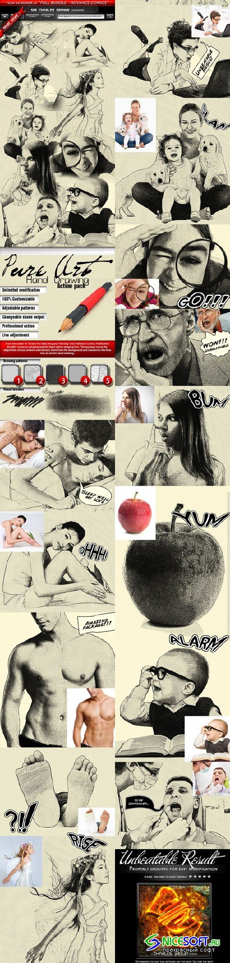 Graphicriver - Pure Art Hand Drawing 3455359