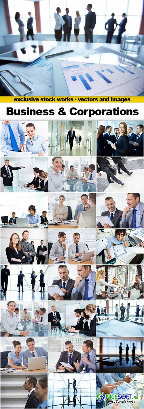 Business and Corporations - 25x UHQ JPEG