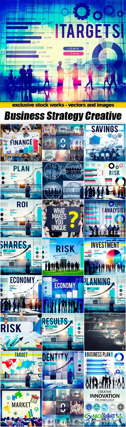 Business Strategy Creative Collection - 25 JPEG