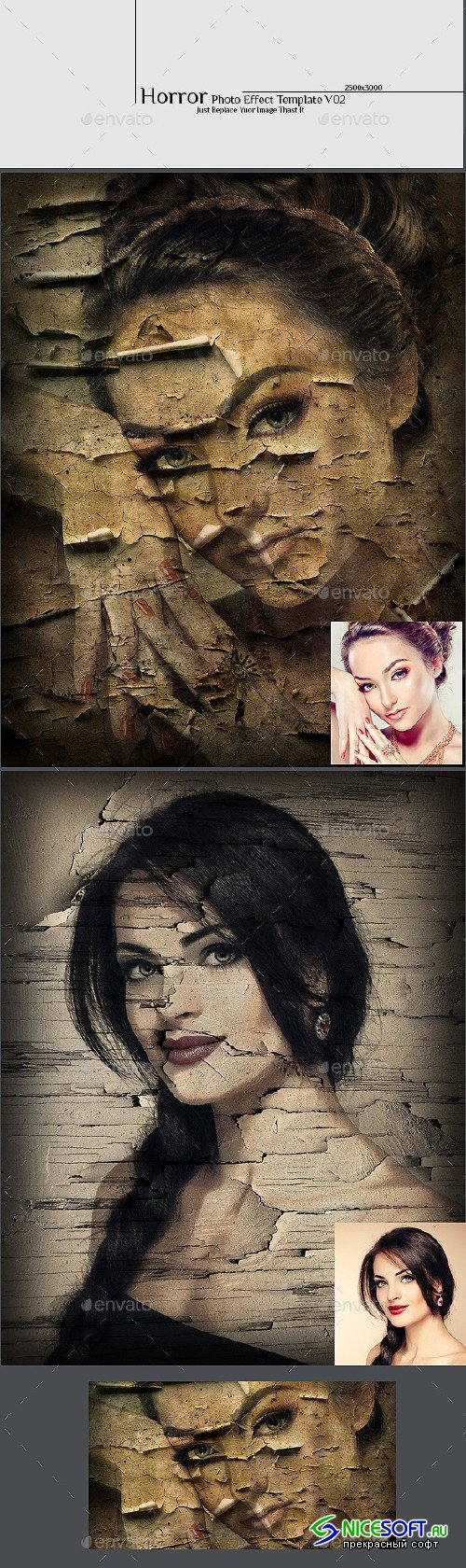 GraphicRiver - Horror Photo Effect Template v02 12729555