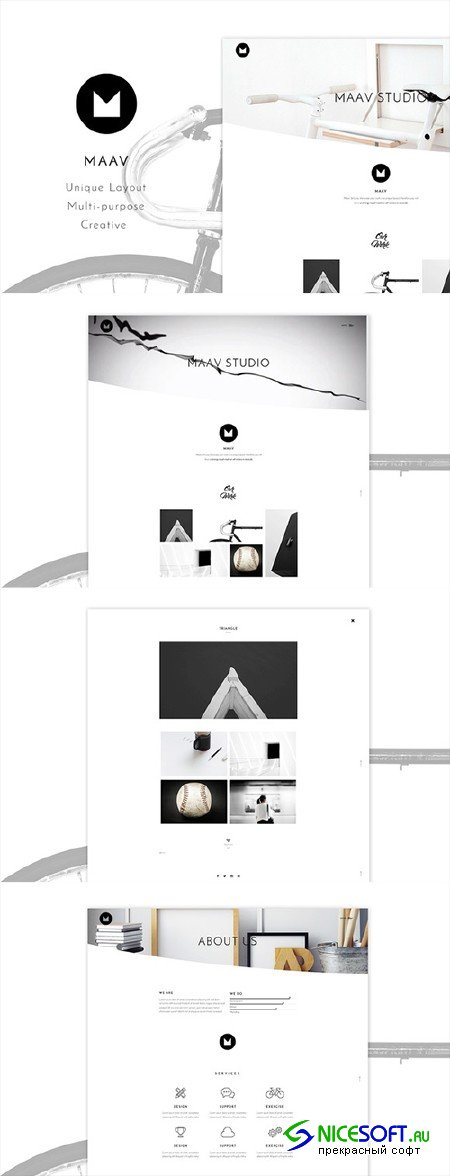 Maav - Creative WP Theme - Creativemarket 526434