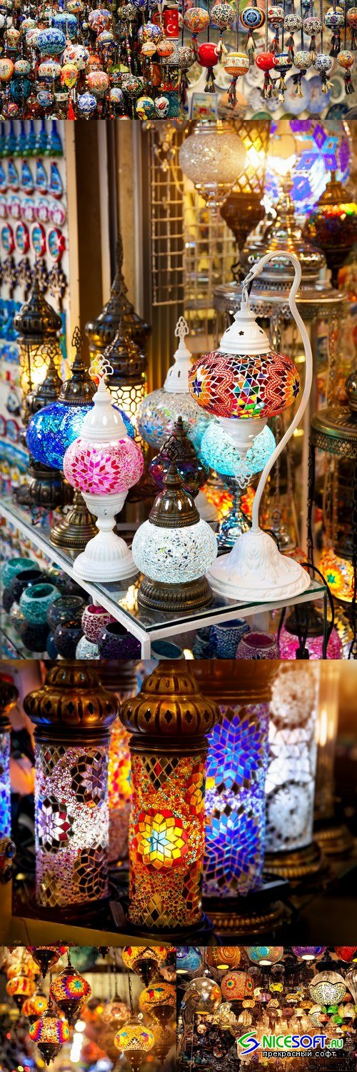 Turkish colorful lamp