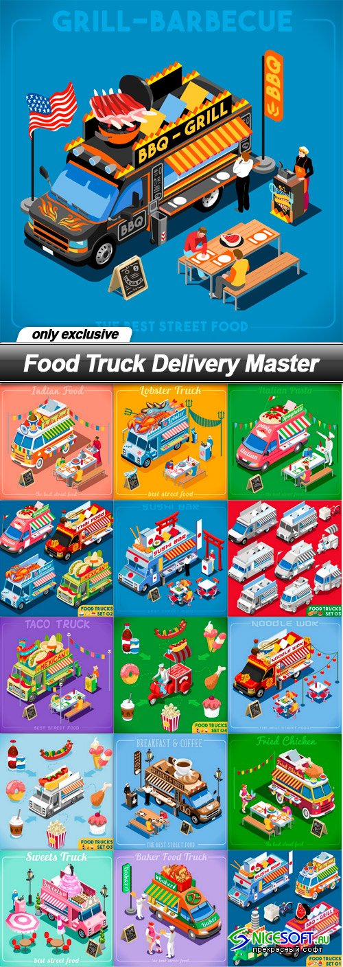 Food Truck Delivery Master