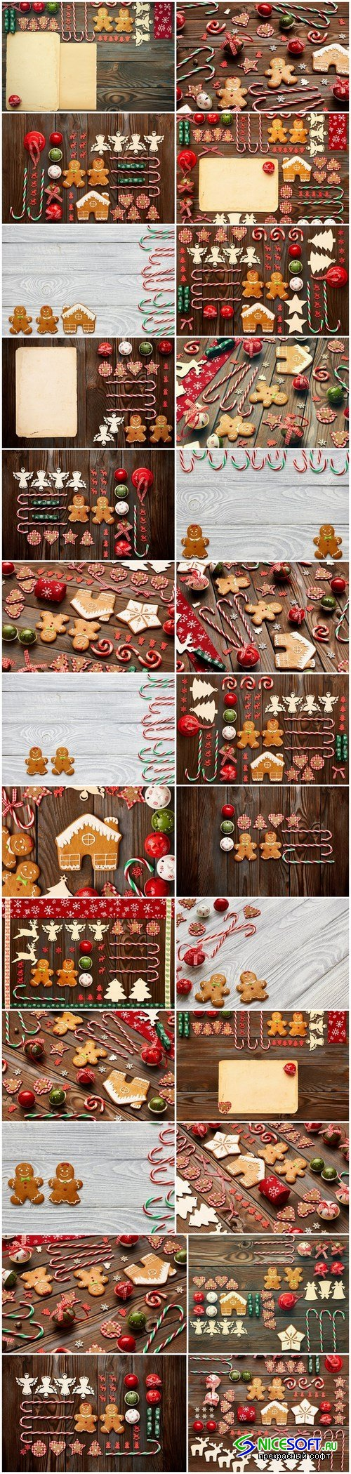 Christmas Sweets & Decorations 2 - 26xUHQ JPEG Photo Stock