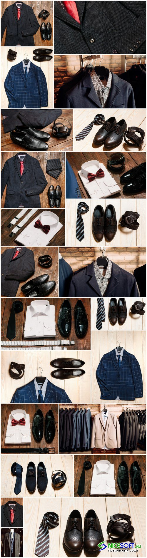Men's Clothing and Accessories 2 - 23xUHQ JPEG Photo Stock