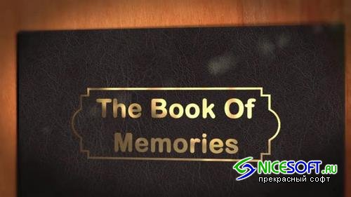 The Book Of Memories After Effects Templates