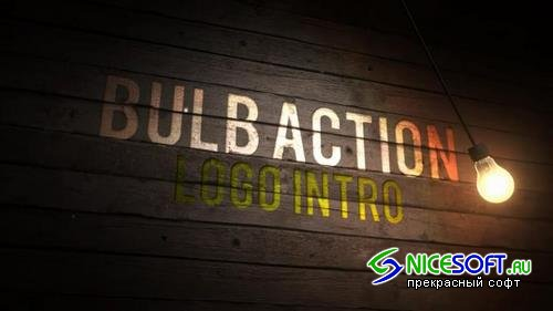 Bulb Action Logo Intro After Effects Templates