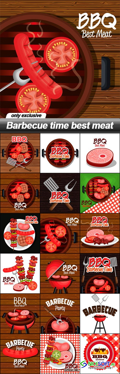 Barbecue time best meat
