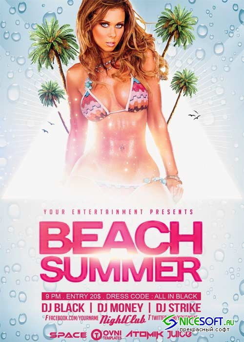 BEACH SUMMER V23 Flyer Template