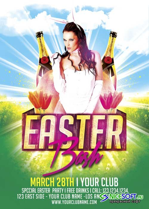 Easter Bash V14 Flyer Template