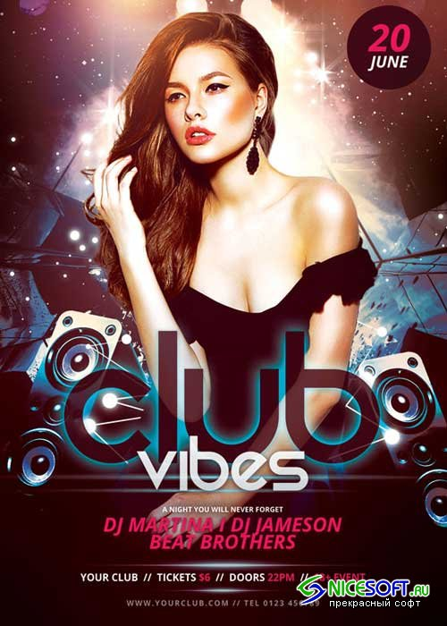 Club Vibes V15 Flyer Template