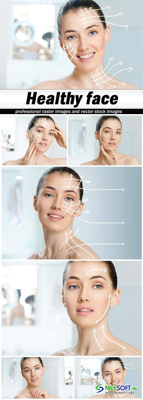 Healthy face - 6 UHQ JPEG