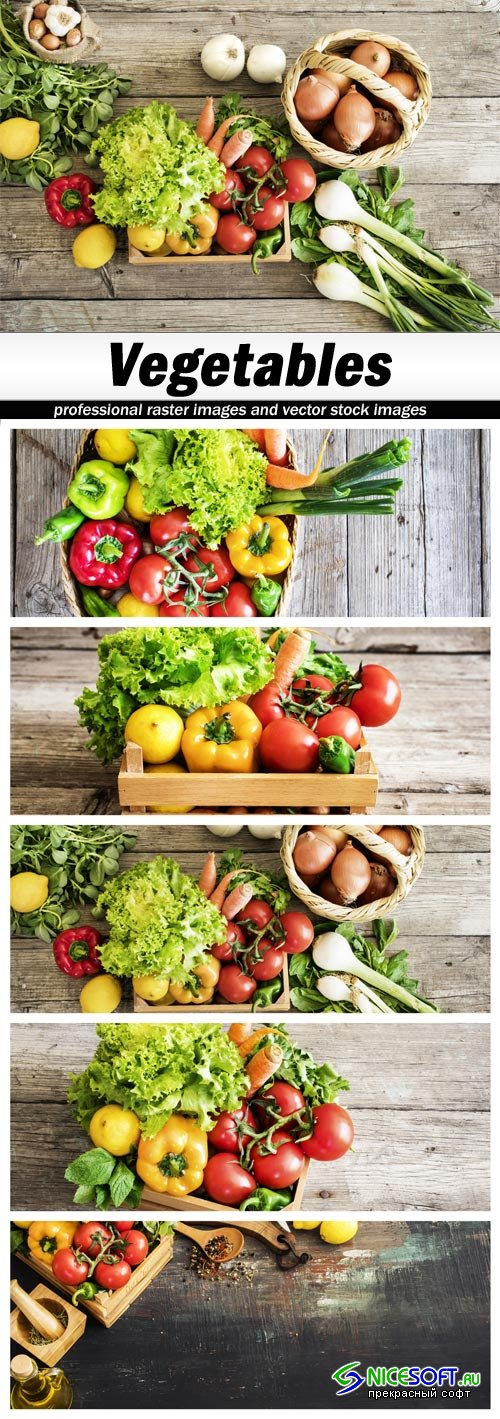 Vegetables - 5 UHQ JPEG