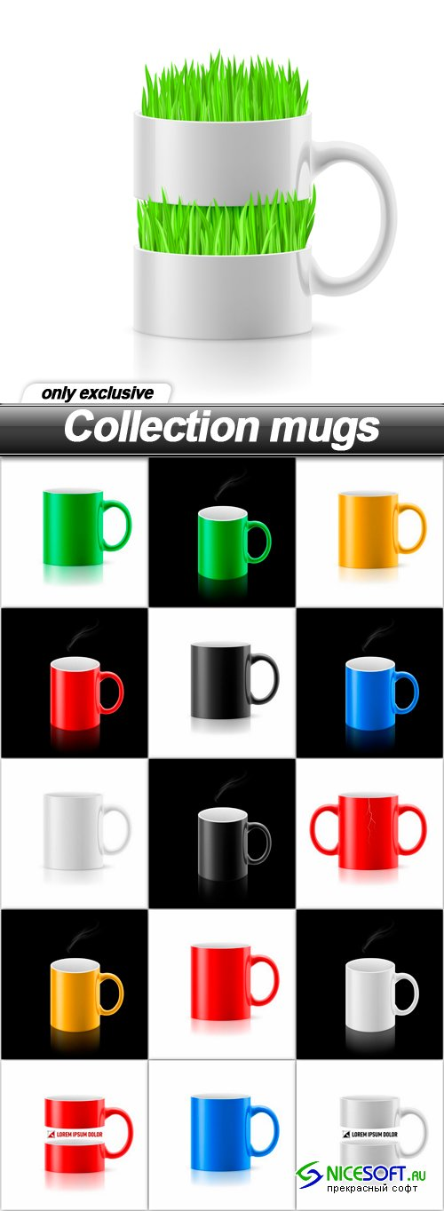 Collection mugs