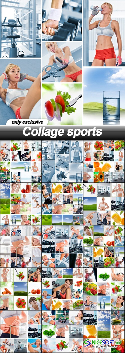 Collage sports