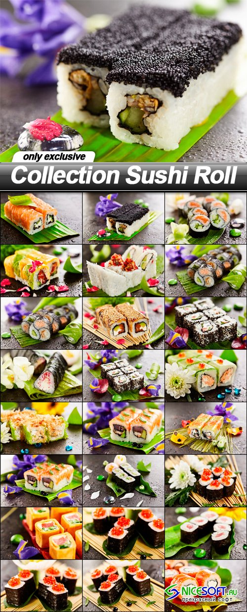 Collection Sushi Roll