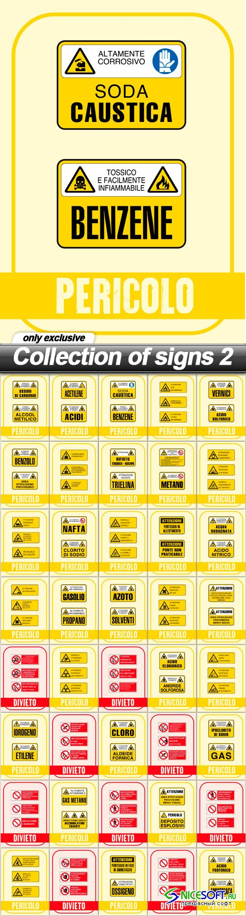 Collection of signs 2