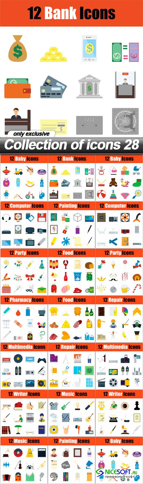 Collection of icons 28
