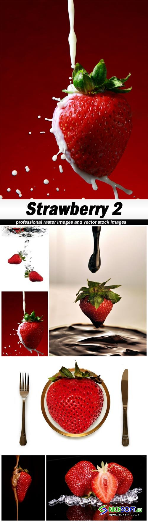 Strawberry 2 - 6 UHQ JPEG