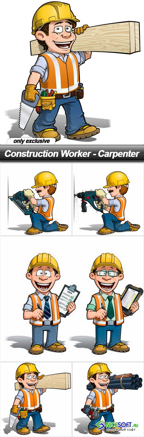 Construction Worker - Carpenter