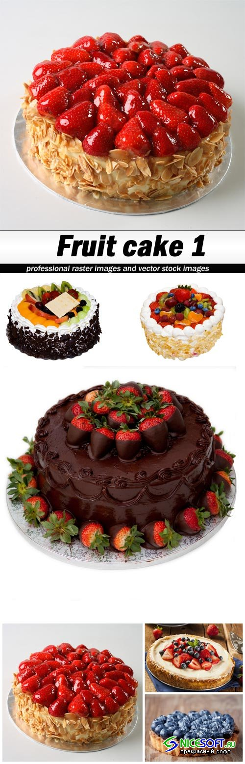Fruit cake 1 - 6 UHQ JPEG