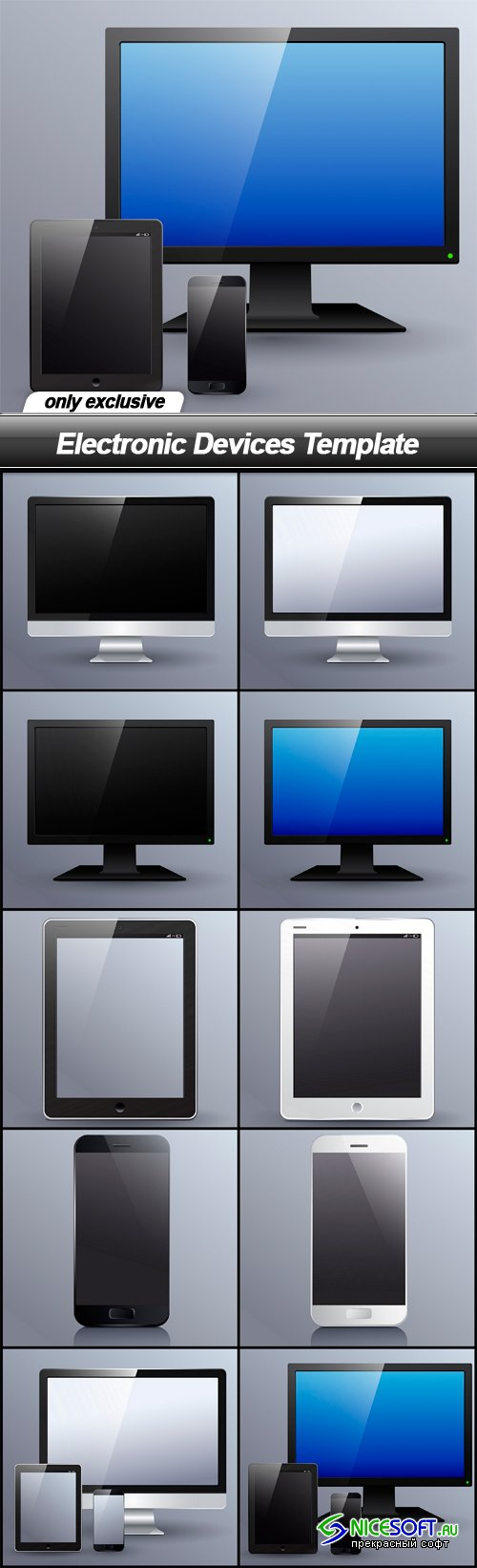 Electronic Devices Template