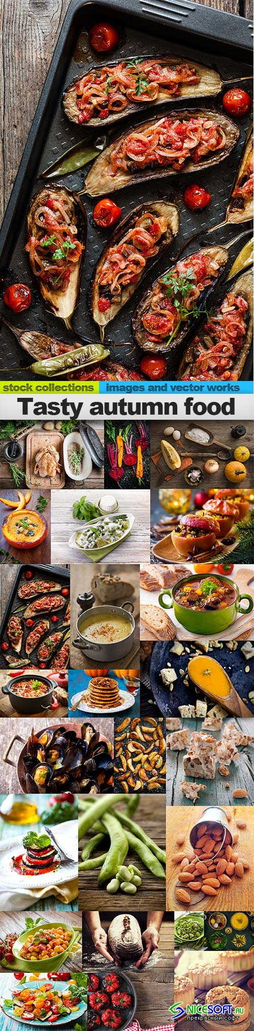 Tasty autumn food, 25 x UHQ JPEG