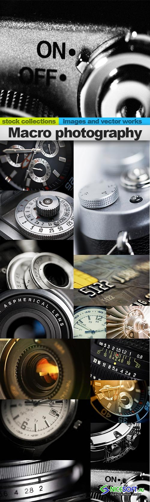 Macro photography, 15 x UHQ JPEG