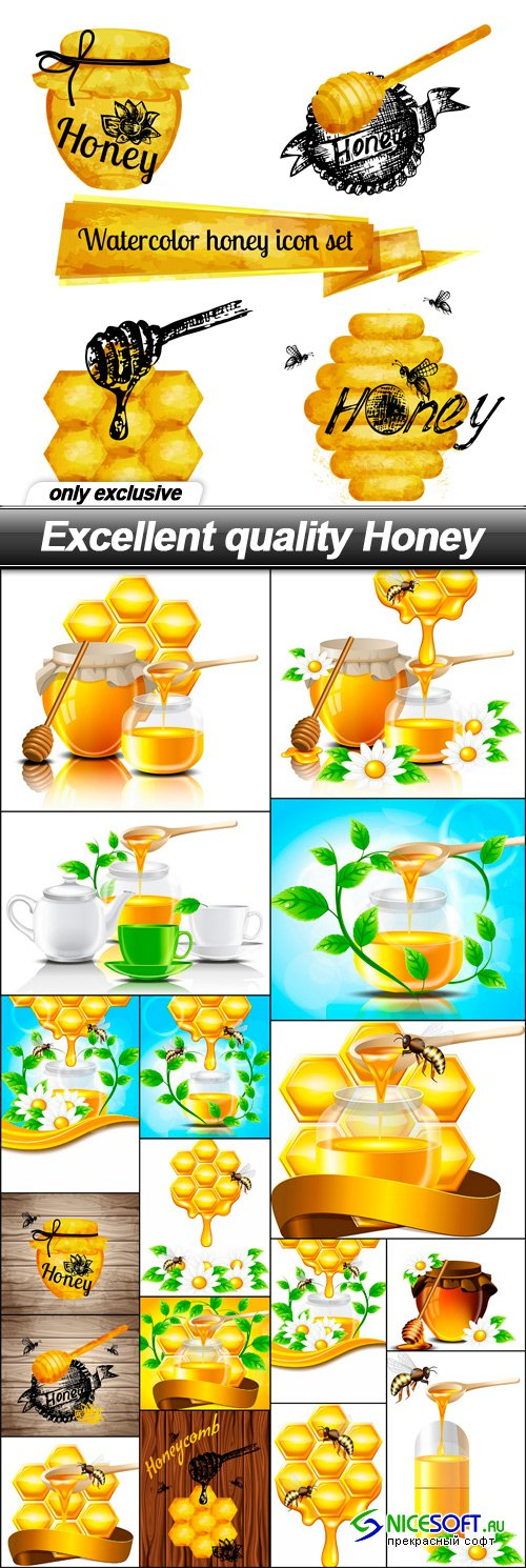Excellent quality Honey