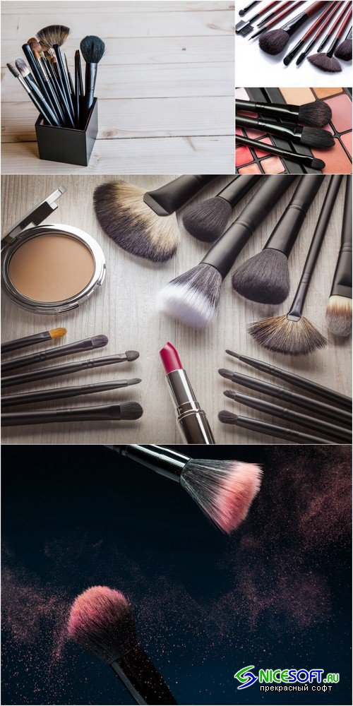 Makeup Brushes - 5 UHQ JPEG
