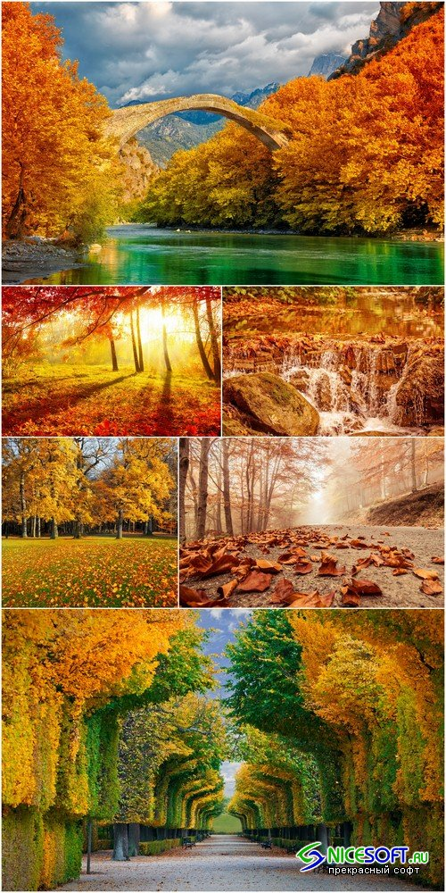 Autumn landscape - 6 UHQ JPEG