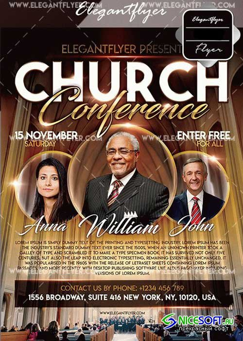 Church Conference V29 Flyer Template