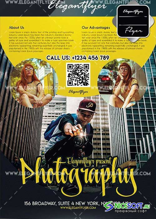 Photography Flyer V14 Template