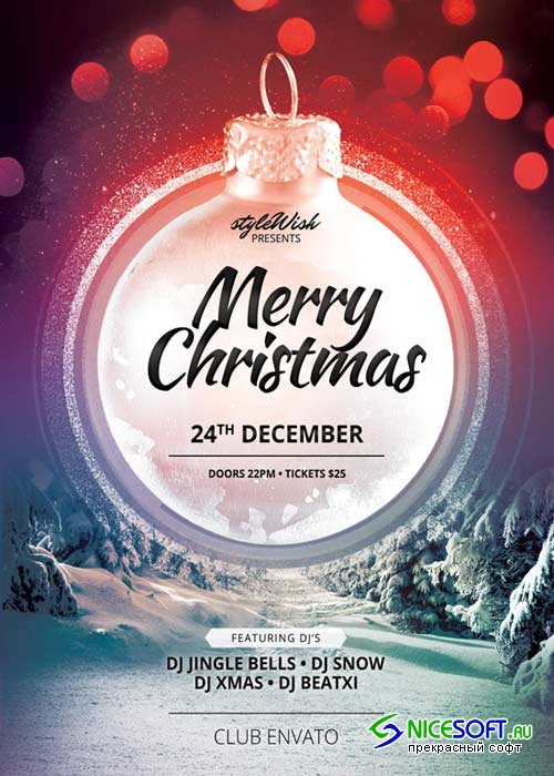 Merry Christmas V5 2018 Flyer