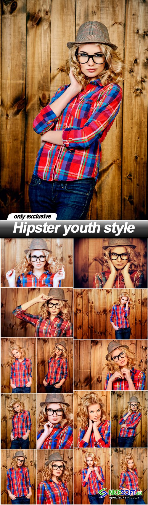 Hipster youth style